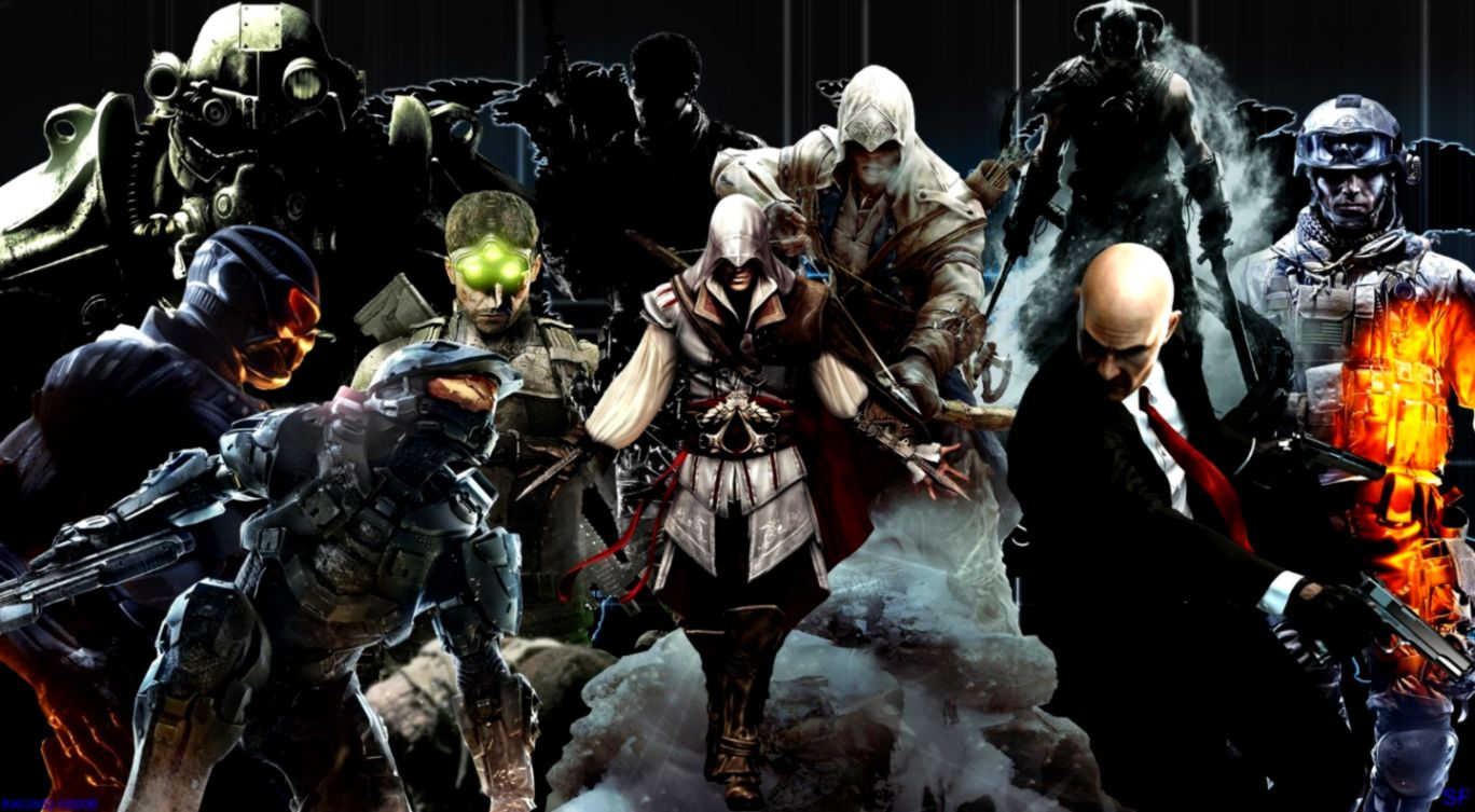 Master Chief Ezio Auditore da Firenze video games Hitman