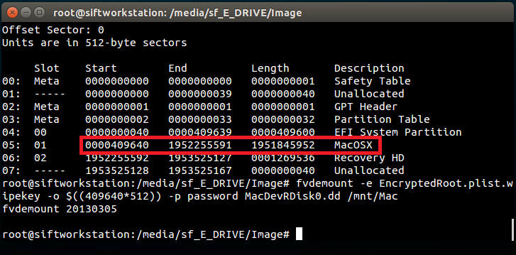 Another Forensics Blog: Mounting and Reimaging an Encrypted