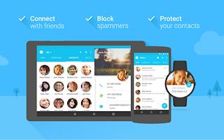 برنامج Contacts Plus لدمج الارقام المكررة والعديد من المزايا الاخرى