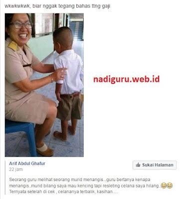 Lucu : Anak Kecil yang Polos, Menangis Gara-gara Mau Kencing Resleting Celananya Hilang