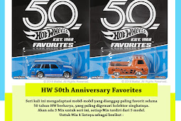 Hot Wheels 50th Anniversary Favorites Series 2018