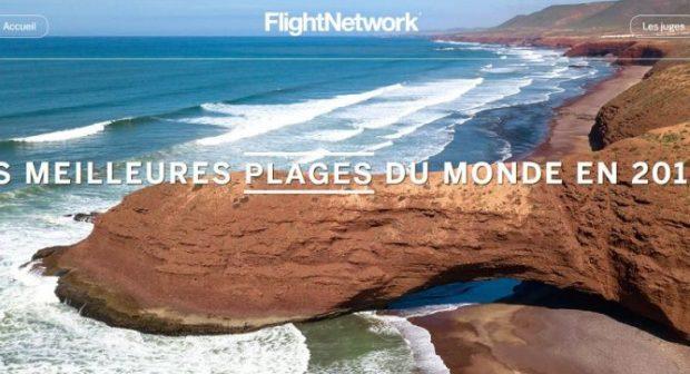 """تنويه: شاطئا أكادير و """"الكزيرة"""" في اللائحة الرسمية لأفضل شواطئ العالم وفي ترتيب متقدم."""