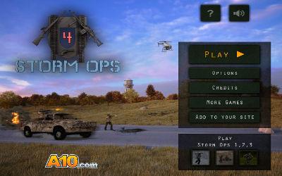 Storm Ops 4 - Jeu FPS sur PC