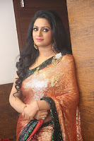 Udaya Bhanu lookssizzling in a Saree Choli at Gautam Nanda music launchi ~ Exclusive Celebrities Galleries 121.JPG