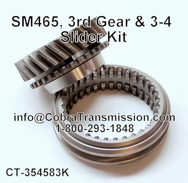 Cobra Transmission Parts 1-800-293-1848: Thats Right, We Have Parts