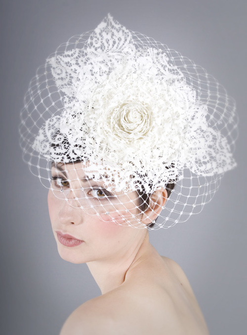 Beautiful bridal couture bridal headpieces for Chamber of couture