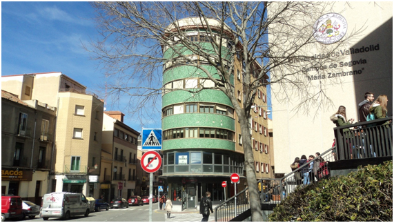 Arquitectura moderna en segovia