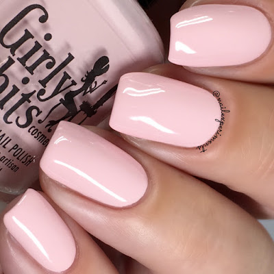 girly bits cosmetics peach love and joy bridal bliss collection