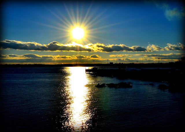 Sunset, Salem Harbor, Salem, Massachusetts