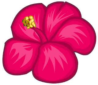 Hibiscus Flower using Inkscape