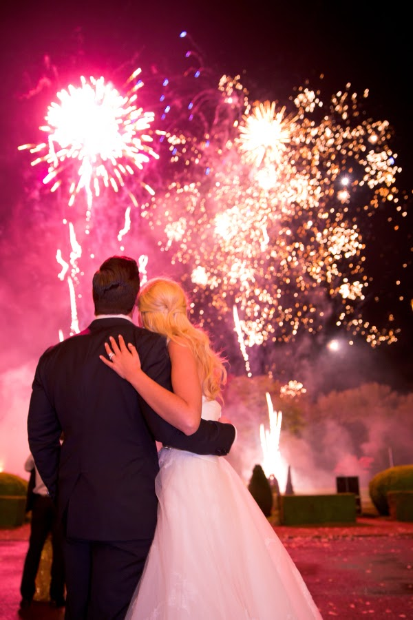 Wedding Fireworks Colored Sparklers or Gold Sparklers