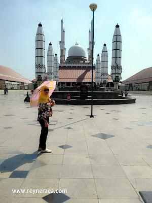 wisata jateng masjid agung semarang