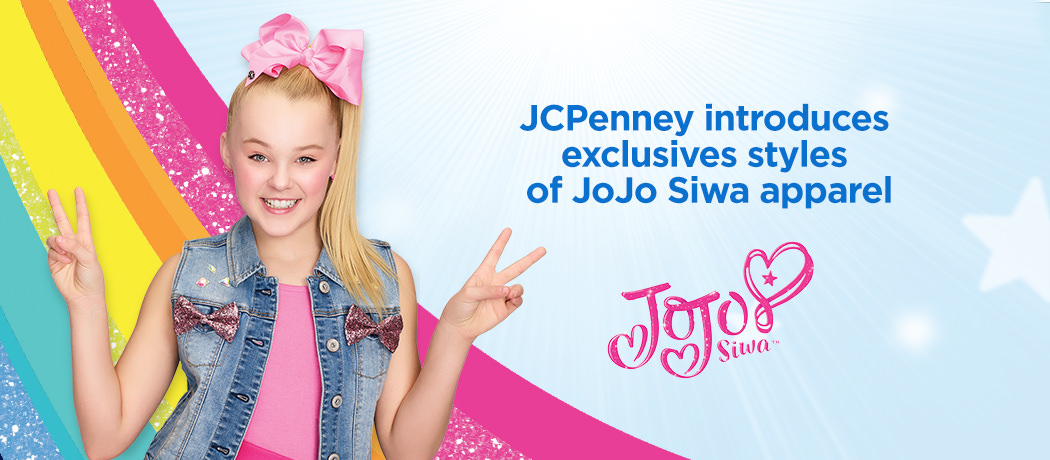 nickalive jcpenney shines with exclusive styles of girls