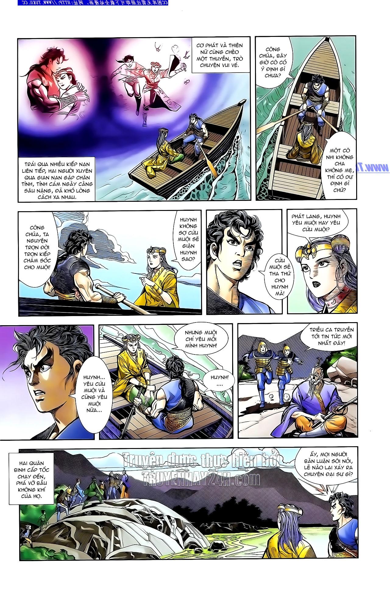 Cơ Phát Khai Chu Bản chapter 132 trang 25
