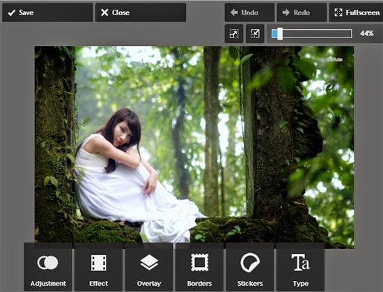Cara Memotong Gambar Dengan Foto Editor Online