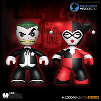 Mezco San Diego Comic-Con 2016 Exclusive Mez-Itz DC Comics Mad Love Joker and Harley Quinn Figure Pack