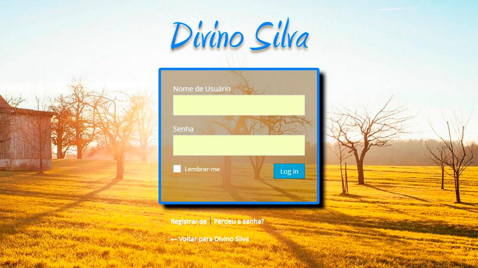 Utilize este plugin para personalizar sua tela de login, ótimo para sites de clientes!