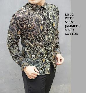 model baju batik pria yang keren