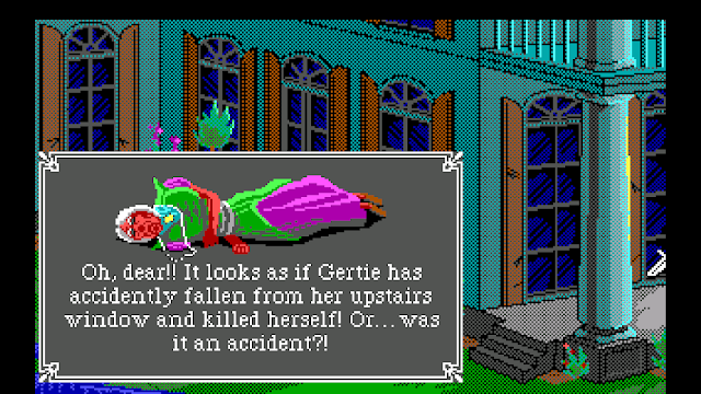 Screenshot from The Colonel's Bequest
