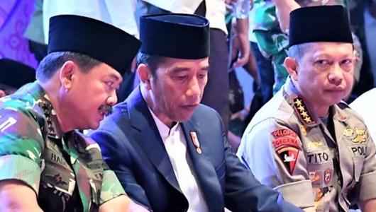 Presiden Jokowi Serukan Halau Kekuatan Inkonstitusional