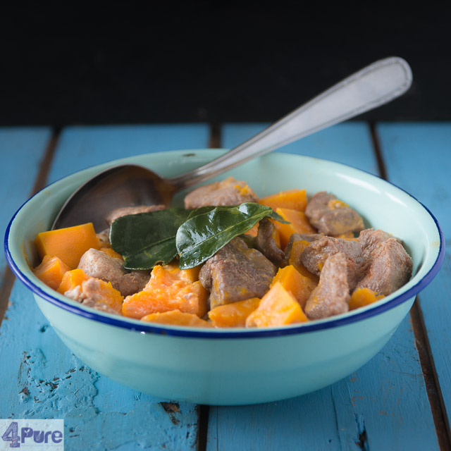Pompoen curry ® 4purebyandrea
