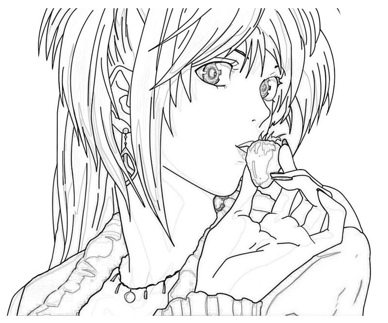 deathnote coloring pages - photo#12