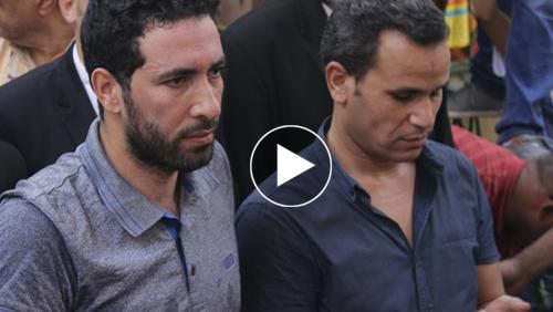 أبو تريكة ينعي محمود عبدالعزيز: قابلته مرة واحدة ودخل قلبي
