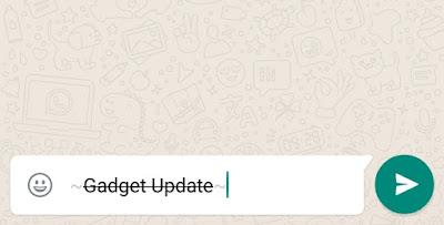 Cara Membuat Tulisan Miring, Tebal dan Garis tengah di WA, ketika mendapat WhatsApp yang tulisannya tebal hitam dan ada juga yang bentuk hurufnya miring membuat heran, tapi disini nanti kita akan bahas bagaimana cara membuat tulisan WA /WhatsApp menjadi tulisan yang tebal dan miring.