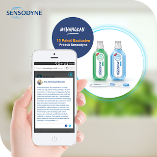Kuis Share Sensodyne Berhadiah 10 Paket Exclusive Produk Sensodyne