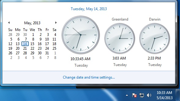 Tech Doze: How to Display Multiple Clocks In Your Windows 7