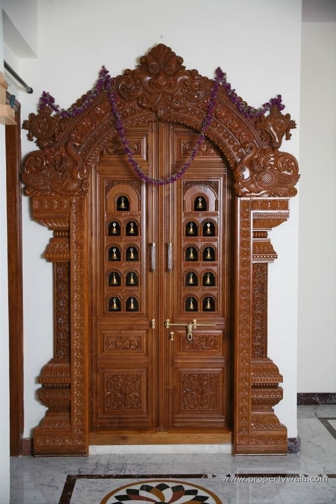 9 Traditional Pooja Room Door Designs In 2020: Weekend Tweaks: MY POOJA SPACE IN OUR HOME