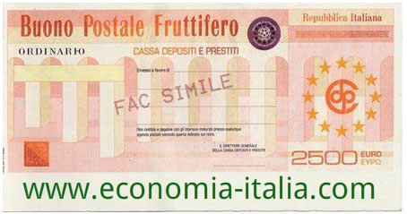 Buoni Fruttiferi Postali con rendimenti più convenienti