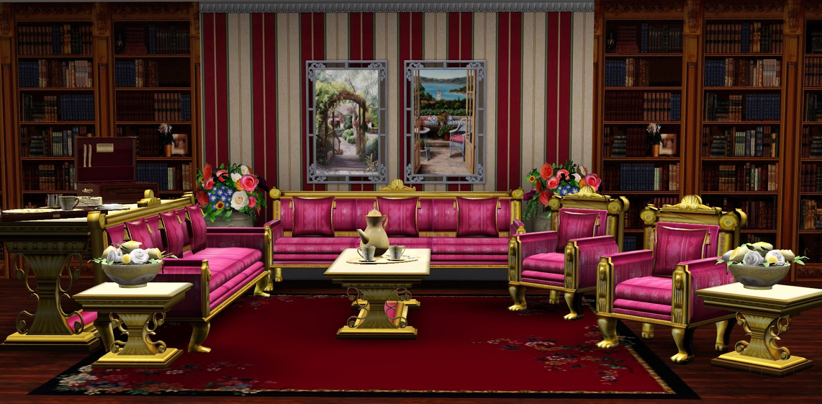 My Sims 3 Blog Royal Living By Ladesire