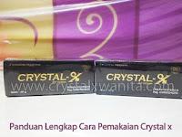 Panduan Lengkap Cara Pemakaian Crystal x Yang Benar