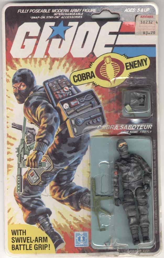 NICE! Your Pick Vintage Gi Joe Cobra Action Figures Firefly Snow Job Viper etc
