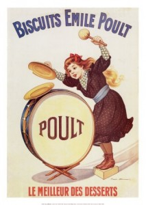 magasin d'usine de la biscuiterie Poult dans les Landes