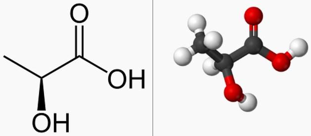 Rumus Kimia Asam Laktat