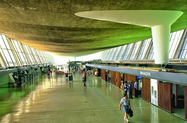 Terminal del Aeropuerto de Washington-Dulles | Eero Saarinen | Estructura
