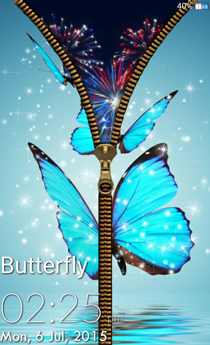 Direct Download Butterfly Lockscreen Apk App | Free Butterfly Locker