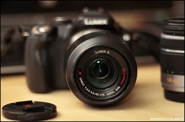 Fotografia del Panasonic Lumix G X Vario PZ 45-175mm / F4.0-5.6 ASPH. / Power O.I.S. su Panasonic G5