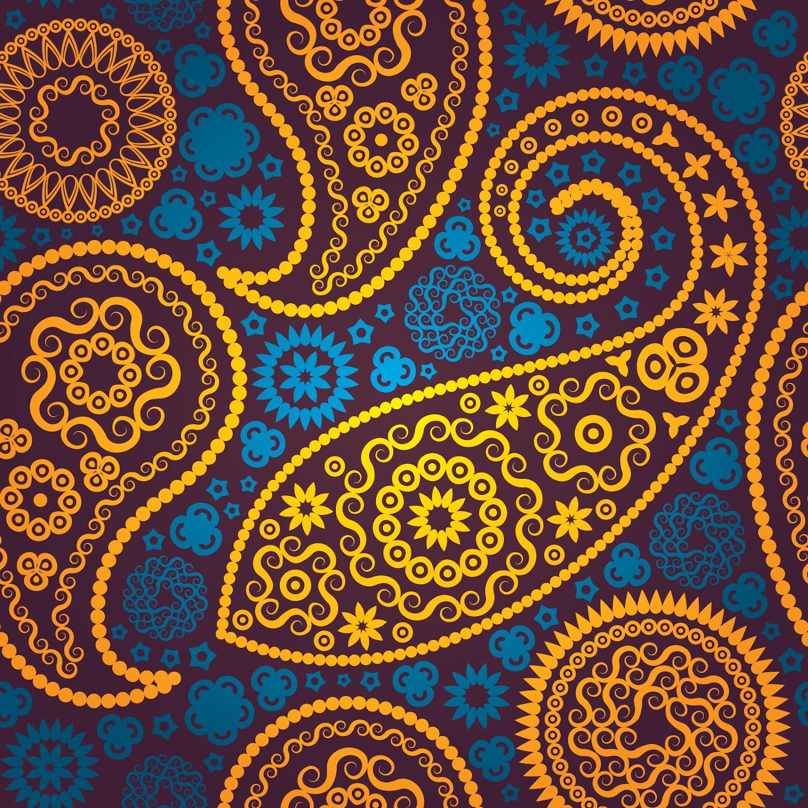 Klasik Background Persian Paisley