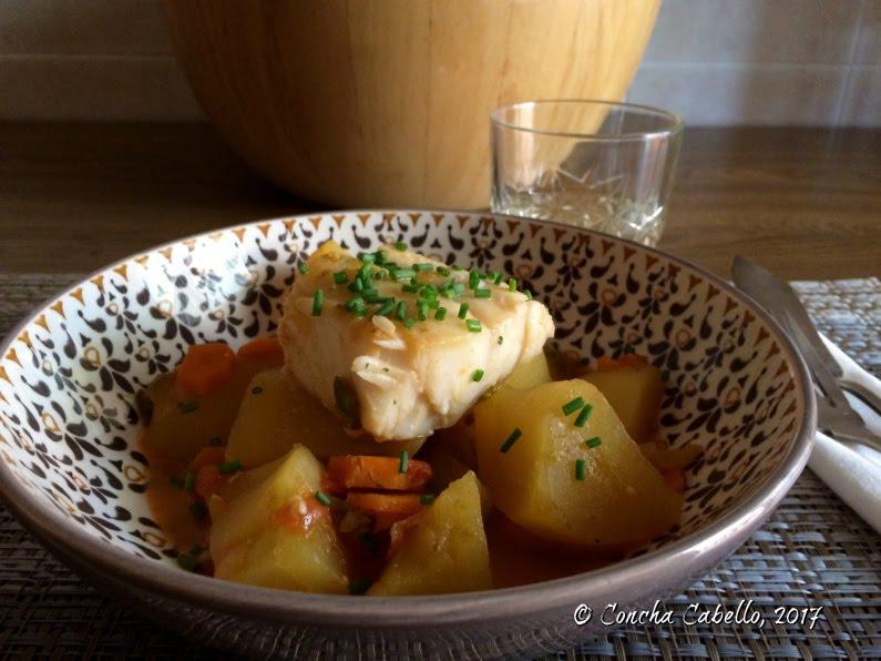 Marmita de bacalao - Cocinar bacalao congelado ...