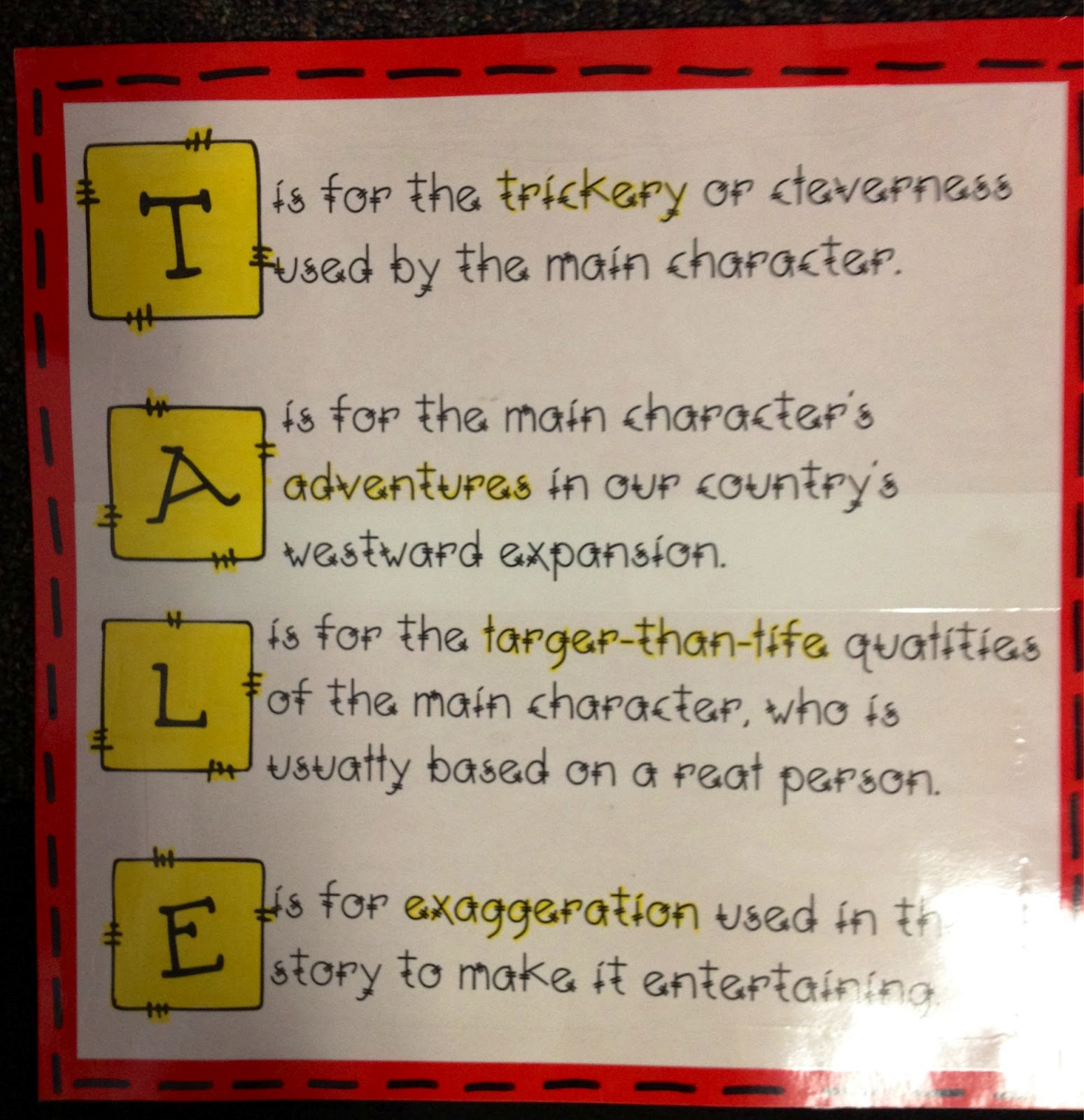 Working 4 The Classroom Classroom Anchor Charts And Posters