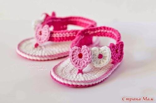 Hobby lavori femminili  ricamo  uncinetto  maglia scarpette neonato uncinetto