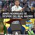 Jame se va del Madrid...Adiós Vaquero