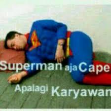gambar dp bbm superhero capek lemes