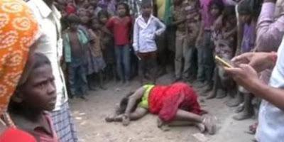Kejam! Wanita Ini Diseret dan Dipukuli Oleh 25 Orang Hingga Sekarat!.. ternyata Karna Melakukan ini