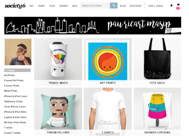 Shop at society6