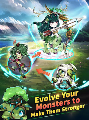 Download Monster Chronicles Mod Apk One Hit Kill 2.08 Terbaru