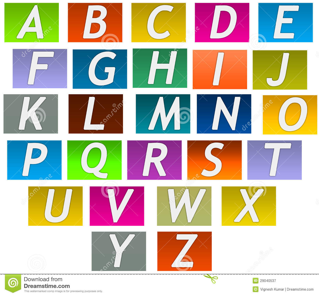 Printable Letters  Per Page